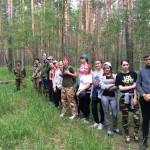 Изучение растительных сообществ (занятие совместно с к.б.н. М.И. Набиулиным)
